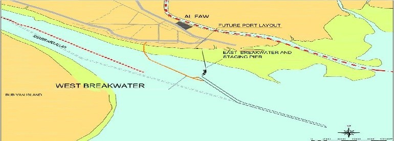 Western Breakwater for Al Faw Grand Port in Iraq